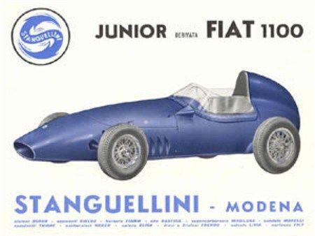 Stanguellini FJ Brochure