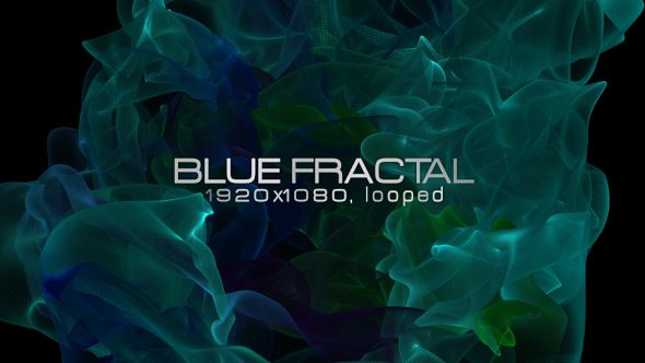 Blue Fractal Video Animation | Full HD 1920×1080 | Looped | Photo JPEG | Can use for VJ, club, music perfomance, party, concert, presentation | #blue #cinematic #dark #edm #halloween #horror #mistery #mysterious #potion #psychedelic #shine #slow #smoke #stroke #vj #fractal #motion