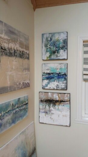 New paintings on the wall