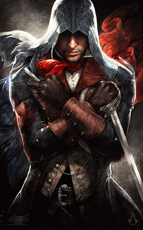 Thank You for stopping by, viewing, and following my boards. I have no limits on repinning because I believe the heart and soul of pinterest is about sharing freely.  (Arno Victor Dorian, Assassin's Creed Unity)