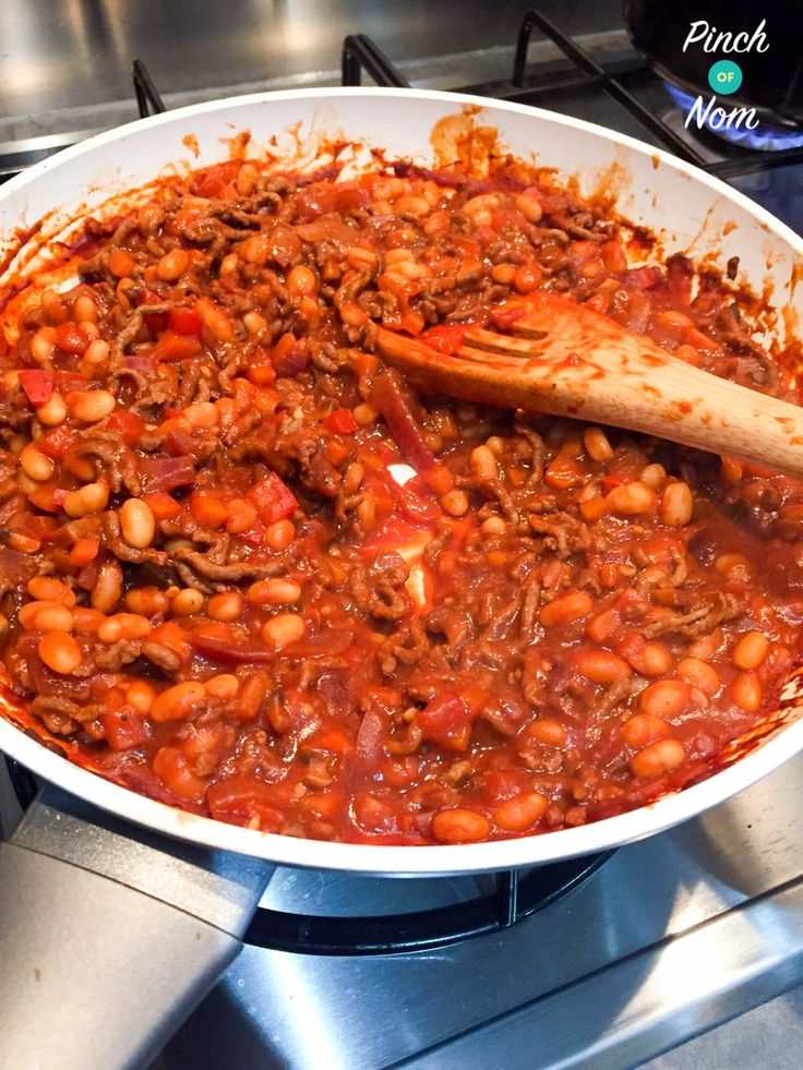 Syn Free Baked Bean Bolognese | Slimming World