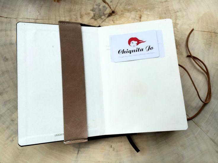 Visitenkarten und Stiftehalter für Filofax, Moleskin, Leuchtturm Notizbücher in A5 Format. So bleibt der Stift immer griffbereit.   Erhältlich in unterschiedlichen individuellen Grössen und...