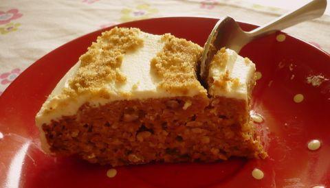 Mrkvový dort bez pšenice