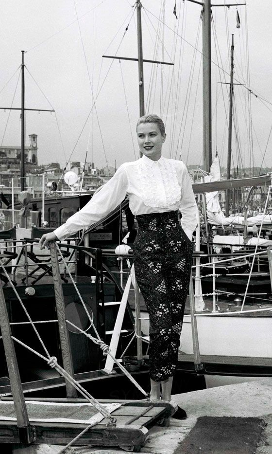 Grace Kelly At The Cannes Film Festival,1955