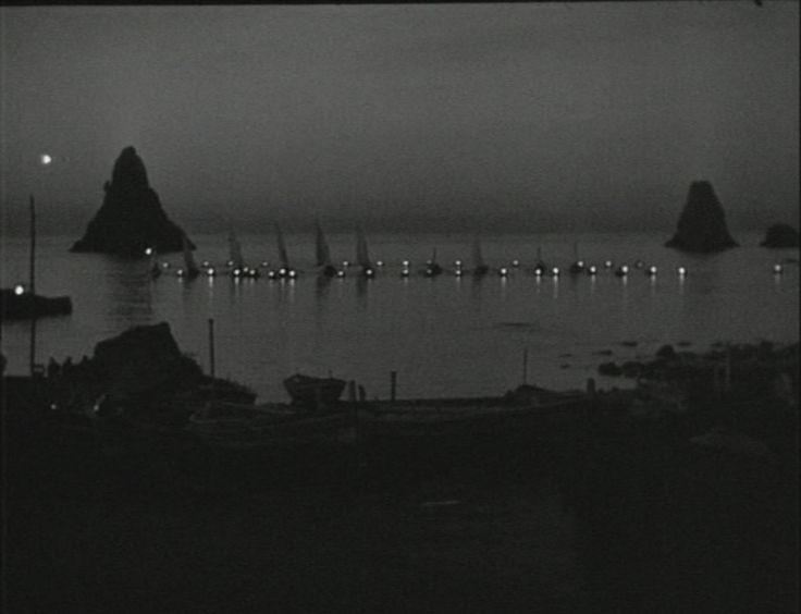 La terra trema: Episodio del mare, 1948. Director Luchino Visconti.  It received the International Prize at the 9th Venice International Film Festival in 1948.