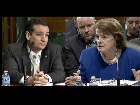BLOWOUT! Ted Cruz vs. Dianne Feinstein ᴴᴰ - YouTube