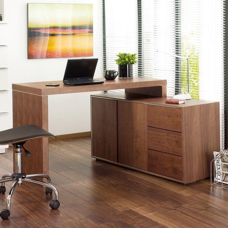 Executive Office Desk Walnut