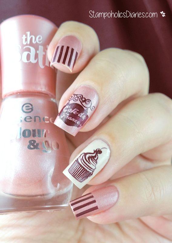 Cupcake Nails nail art