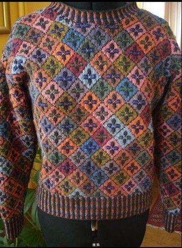 Ravelry: Kells Sweater pattern by Alice Starmore