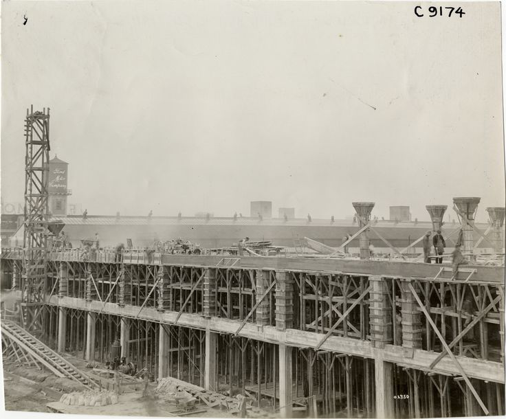 Ford Motor Company factory addition under construction | DPL DAMS