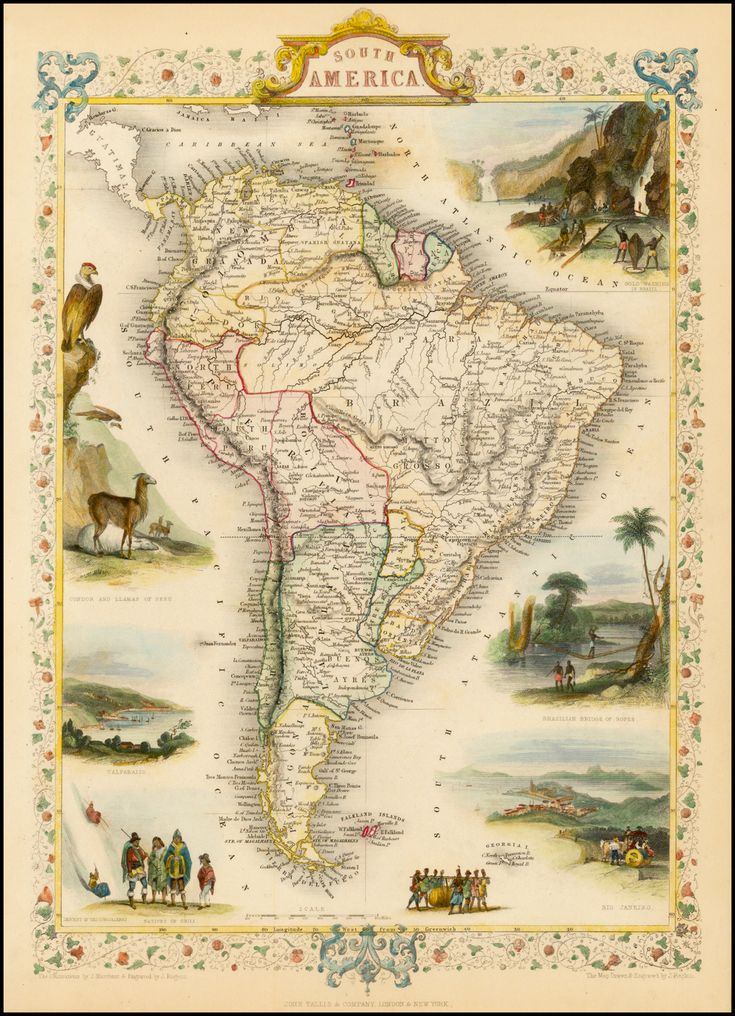 South America (1851)                                                                                                                                                     More