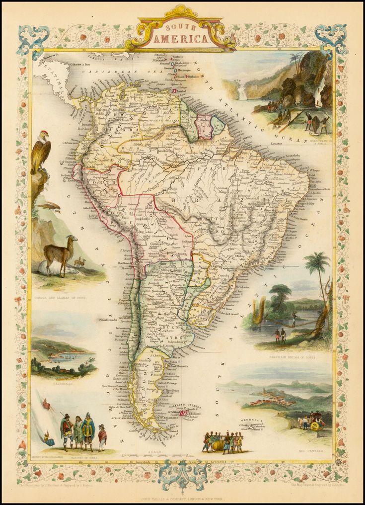 South America (1851)                                                                                                                                                     More
