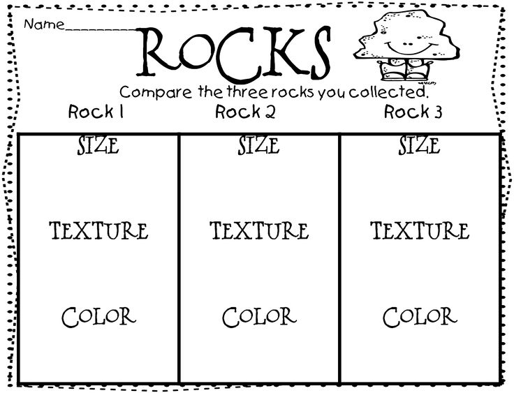 All worksheets rocks and soil worksheets for first grade for Types of soil for kids