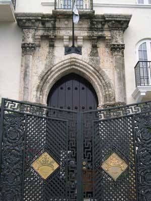 Door and gates of South Beach\u0027s Versace Mansion & 88 best Gianni Versace mansion Miami images on Pinterest | Gianni ...