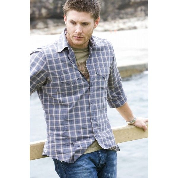 Фото: Дженсен Эклс (Jensen Ackles) ❤ liked on Polyvore featuring supernatural, jensen ackles, guys and people