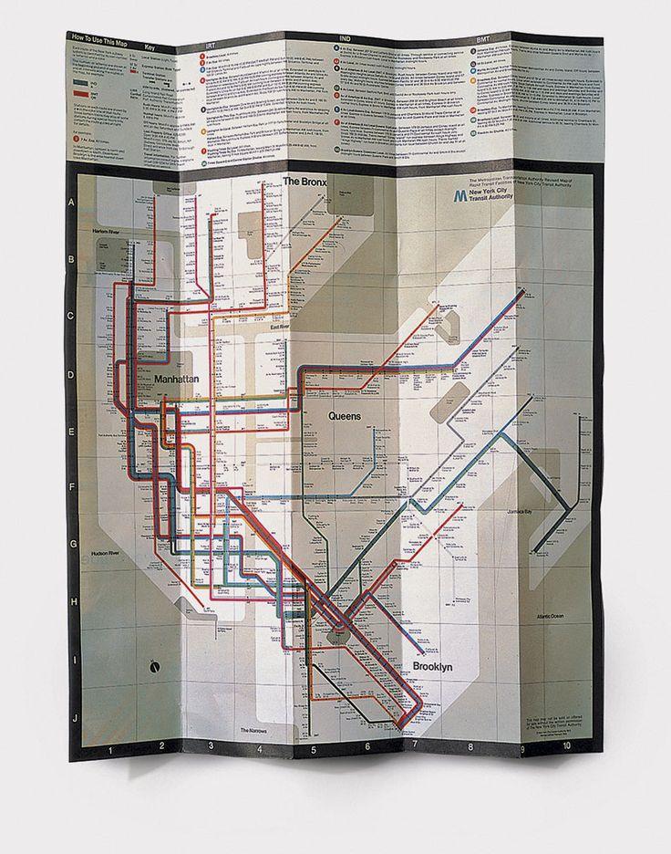 Система навигации Нью-Йоркского метро, 1966