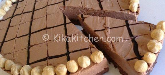 Cheesecake alla nutella (senza cottura in forno) | Kikakitchen
