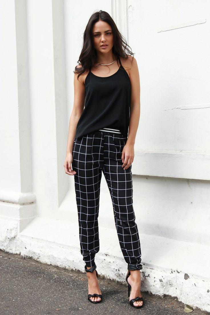 Gridlock Pants - Madison Square