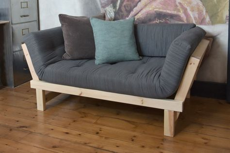Shown with Charcoal colour futon