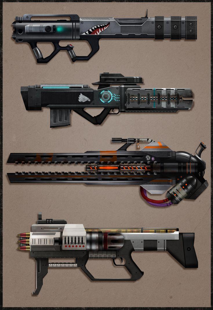 CotV: Heavy Weapons by Prospass.deviantart.com on @deviantART