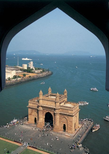 The Gateway of India, Mumbai best places to eat in Mumbai- click on the image!.  http://www.hotel-booking-in.com/mumbai-hotels.html