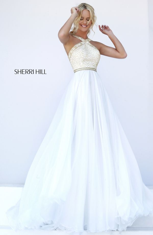 Sherri Hill 11319 Sleeveless Floor Length Prom Dress