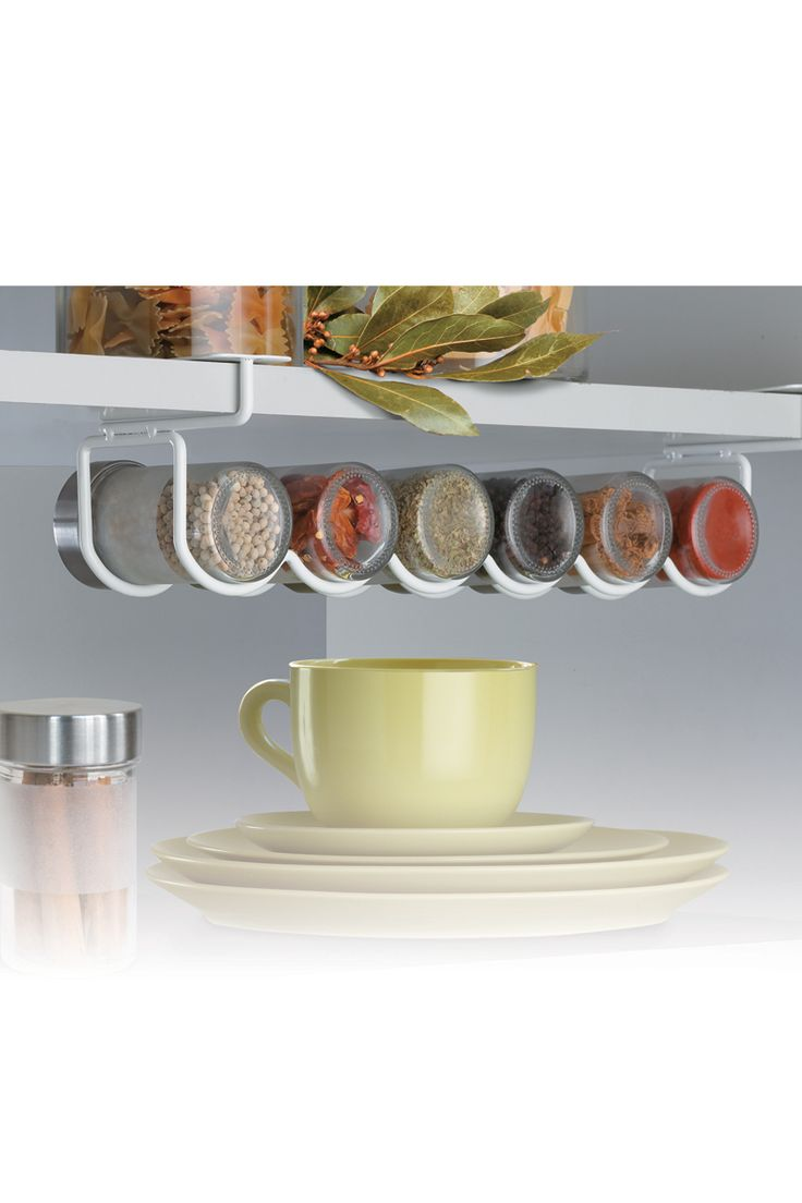 Vente Rayen / 13455 / Cuisine / Rangement / Support pour épices Blanc
