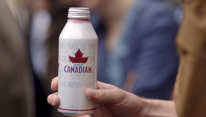 Molson Canadian's Beer Fridge - i love green