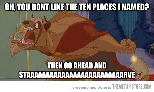 Everytime we go out to eatDinner, Friends, Laugh, Eating, Funny Stuff, Places, Families, Disney, The Beast