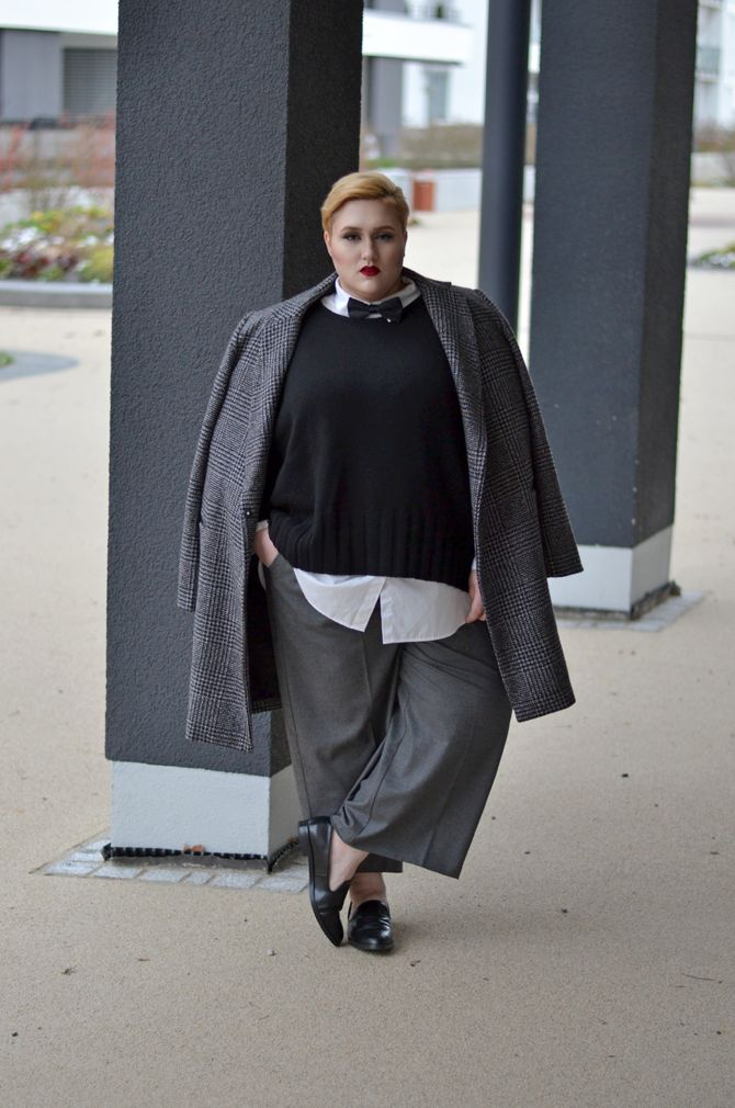 9 Plus Size Cuties Share Tips For Androgynous Style 74