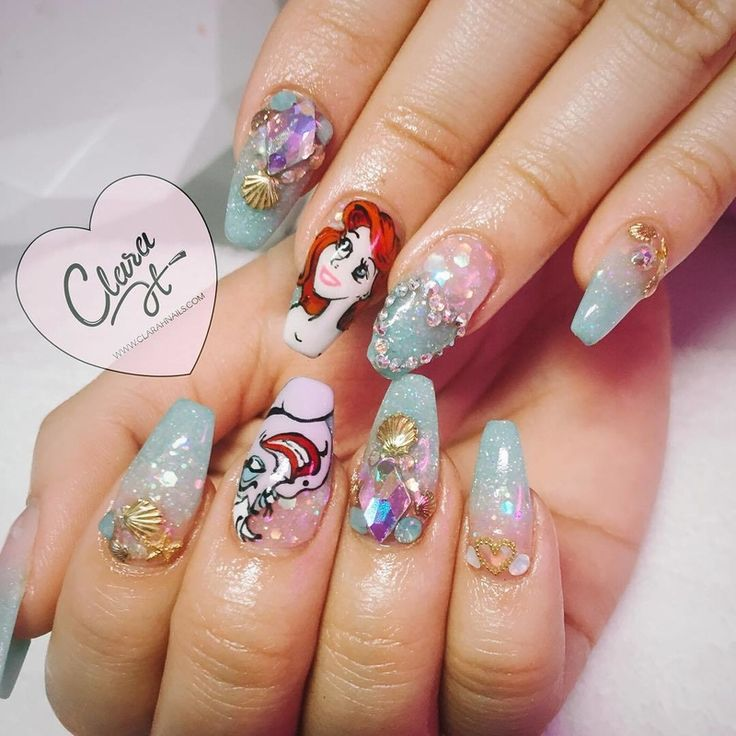 Disney Nail Art: 25+ Best Ideas About Disney Princess Nails On Pinterest
