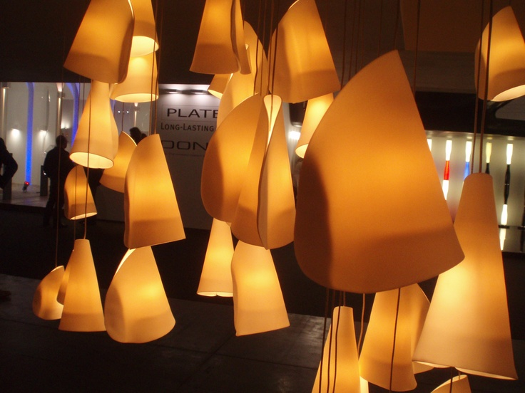 Lamps made in glass  #milandesignweek #salonedelmobile