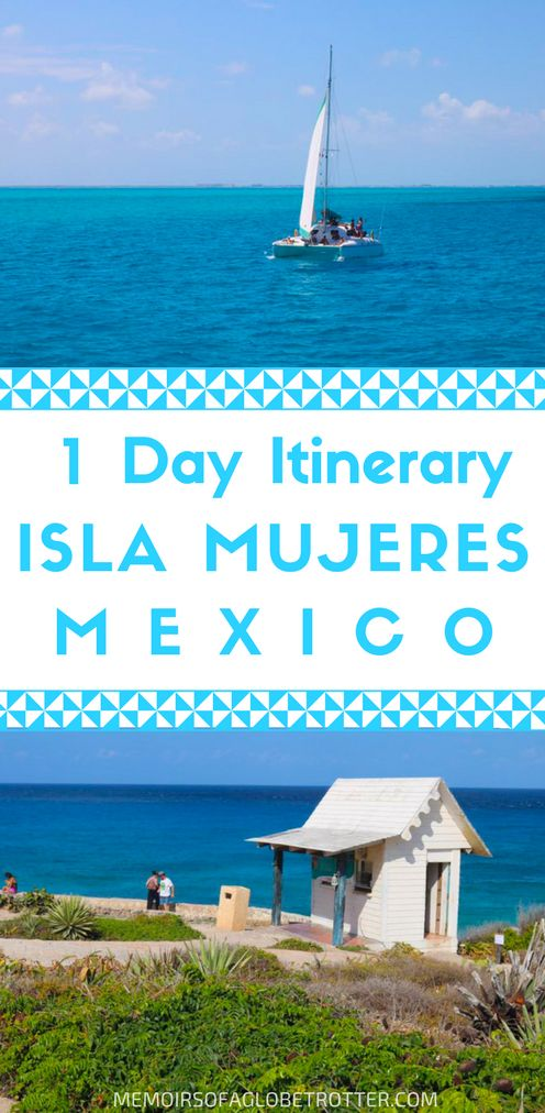 Discover the best things to see during a day trip to Isla Mujeres from Cancun, Mexico. #Mexico Travel  | #Cancun Travel #IslaMujeres
