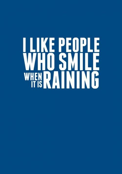 I LOVE rain. I love the smell of rain the best. My daughter can smell when rain is going to be coming like I can. I LOVE that . :)