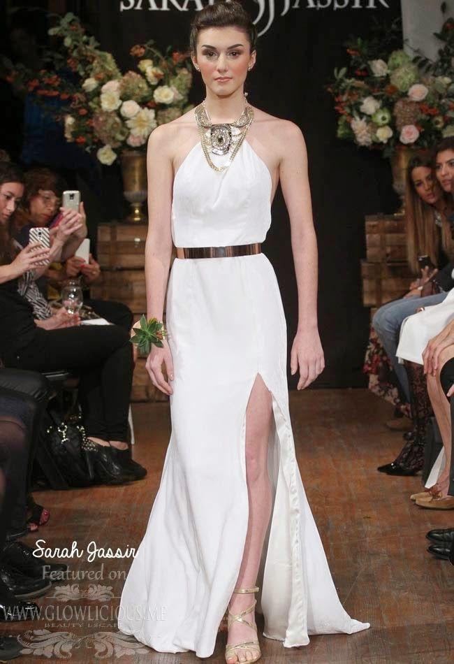 Sarah Jassir Fall 2015 Wedding Dresses Collection ~ GLOWLICIOUS