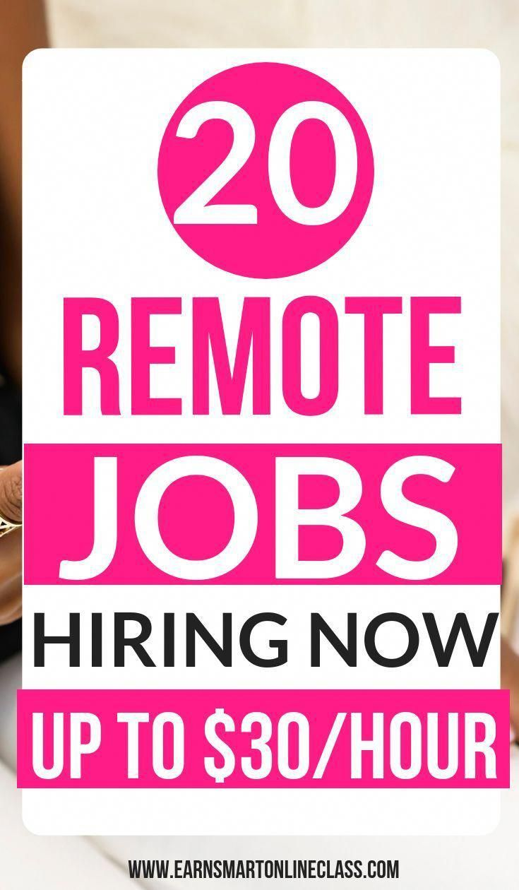Looking for remote work from home jobs for 2019 here is a