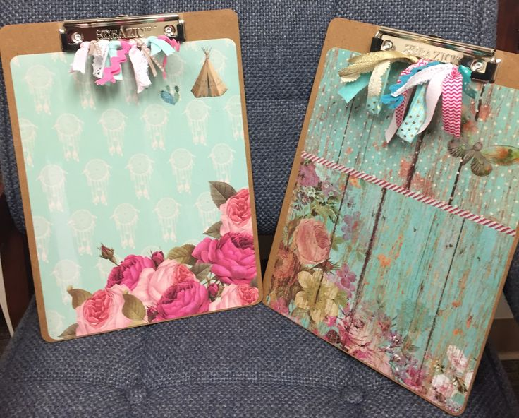 Decorated clipboard