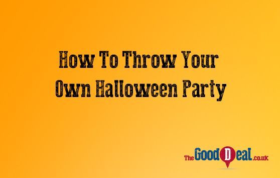 How To Throw Your Own Halloween Party