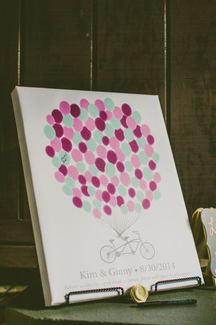 Balloons on a Bike Guest Book   Carolyn Scott Photography   Theknot.com