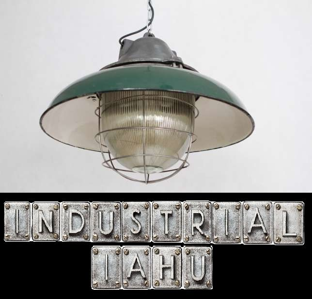 INDUSTRIAL IAHU offers unique old lamp industrial original