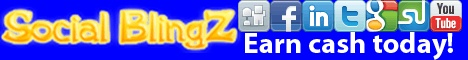 Social BlingZ | Social Exchange Network - Get Facebook Fans, Twitter Followers, Youtube Views, Google +1's, Stumbleupon Followers, Digg Followers, Website Hits, Twitter ReTweets, and MORE!