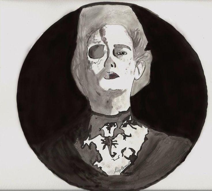 #PennyDreadful #Ilustracion #Artes #Blackandwhite #Draw #Dibujo #Tintachina