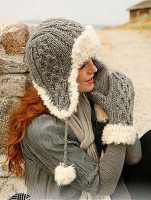 Сегодня мы с вами научимся вязать зимнюю шапку - а точнее - несколько вариантов очень универсального, тёплого и привлекательного молодёжного фасона, который, мы уверены, будет к лицу всем без исключения нашим читательницам.