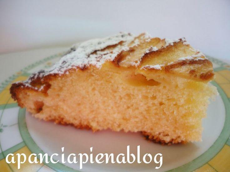 Torta di mele allo yogurt (ricetta tradizionale e bimby)