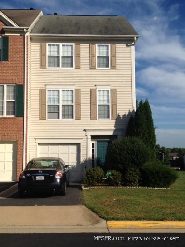 Townhouse For Rent Near Quantico Marine Base Virginia 3 Bed 4