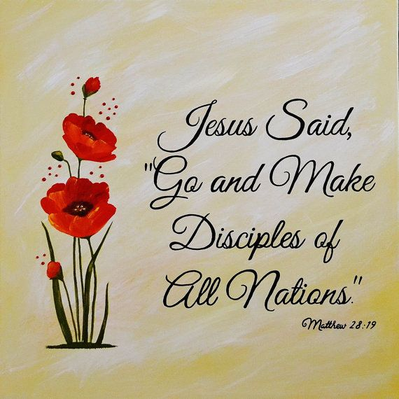 Choose Any Bible Verse Christian Canvas Art by BellaCrystalDesigns