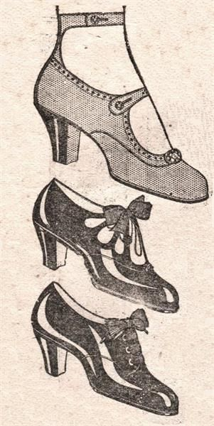 Обувь 20 х годов