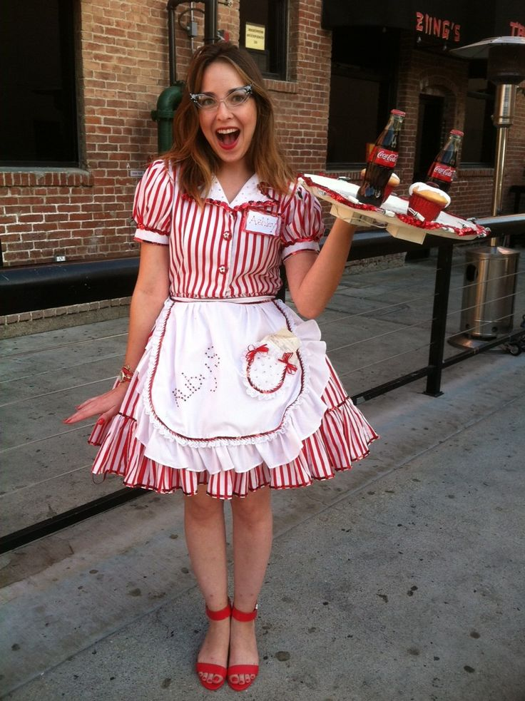 Fabulous Ruby's Diner costume at Buffalo Exchange Fullerton