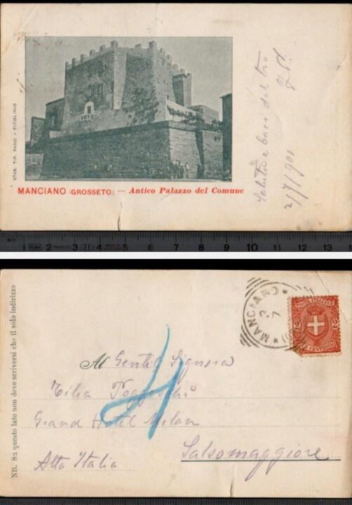 Manciano 1901