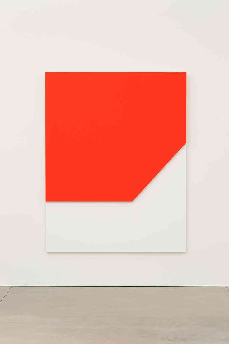 Ellsworth Kelly, 'Red Relief' 2009